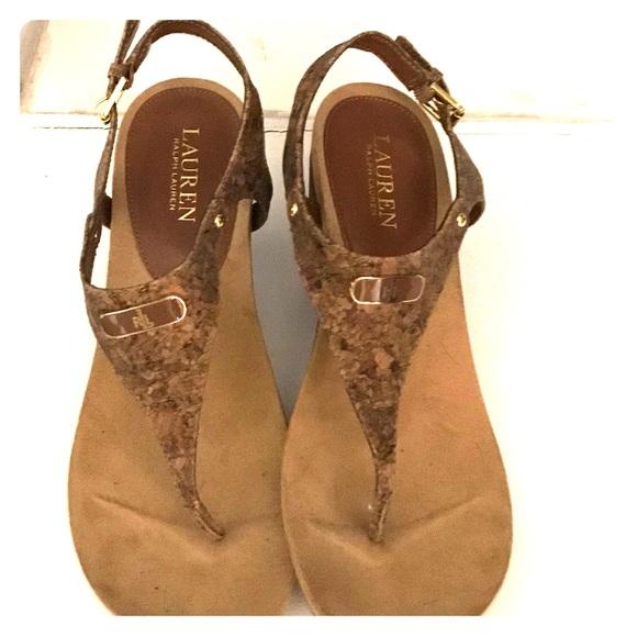 Ralph Lauren Reeta Wedge Sandal | Poshmark